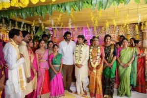 Actor Prabhas @ Prabhu Thej Varsha Marriage Photos