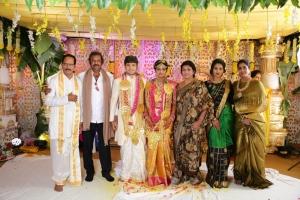 Mohan Babu, Nirmala Devi @ Prabhu Thej Varsha Marriage Photos