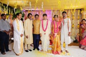Murali Mohan @ Prabhu Thej Varsha Marriage Photos
