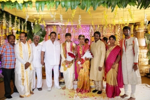 Dasari Narayana Rao @ Prabhu Thej Varsha Marriage Photos