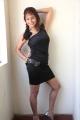Actress Prachee Adhikari Hot Photoshoot Pics in Black Dress