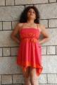 Prachi Adhikari Hot Pics in Red Dress