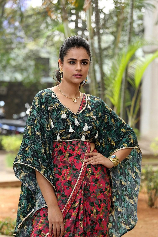 Actress Prachi Tehlan Photos @ Mamangam Press Meet