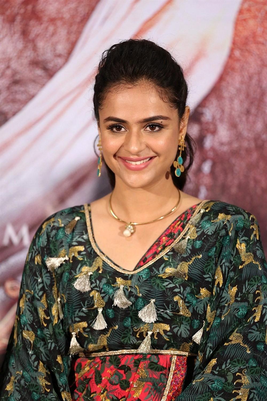 Actress Prachi Tehlan Photos @ Mamangam Movie Press Meet