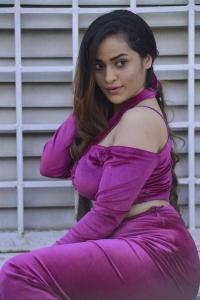 Actress Prajakta Dusane Photos @ Rakkasi Movie Opening