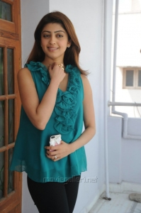 Actress Praneetha Images @ Attarintiki Daredi Interview