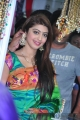 Actress Pranitha at Styles n Weaves Exhibition Launch Photos