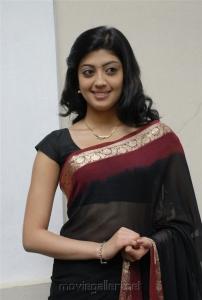 Pranitha Hot in Saree Stills