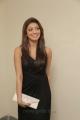 Tamil Actress Pranitha Subhash Hot Photos in Dark Brown Dress