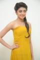 Actress Pranitha Subhash in Yellow Long Dress