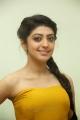 Telugu Heroine Pranitha in Yellow Color Long Dress