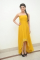 Actress Praneetha New Stills in Yellow Long Dress