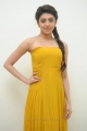 Telugu Actress Pranitha New Stills in Yellow Dress