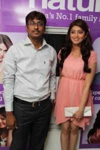 Pranitha launches Naturals Family Salon & Spa at Barkatpura, Hyderabad