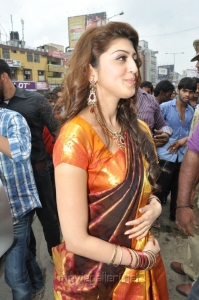 Actress Pranitha at RS Brothers 10th Anniversary Celebrations Gallery
