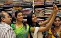 Pranitha Subhash inaugurates Saree Nikethan Showroom, Nalgonda