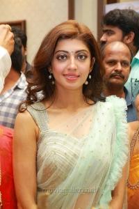Actress Pranitha Subhash Photos @ Videms Silks Launch Vanasthalipuram