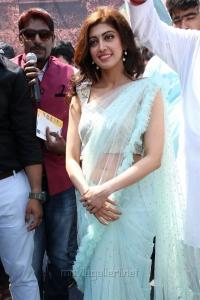 Actress Pranitha Subhash Photos @ Videms Silks Inauguration Vanasthalipuram