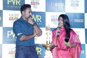 Prasanna & Sneha @ PVR Cinemas Play House Launch Stills