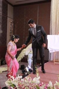 Sneha Prasanna New Reception Stills