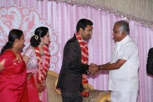 Abirami Ramanathan at Prasanna Sneha Wedding Reception Photos