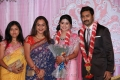 Preetha Vijayakumar at Prasanna Sneha Wedding Reception Photos
