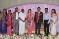 SP Muthuraman, Suriya, Jyothika at Prasanna Sneha Wedding Reception Photos