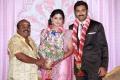 TP Gajendran at Prasanna Sneha Wedding Reception Photos