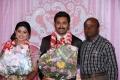 MS Baskar at Prasanna Sneha Wedding Reception Photos