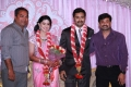 Aravind Akash at Prasanna Sneha Wedding Reception Photos