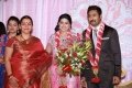 Fathima Babu at Prasanna Sneha Wedding Reception Photos
