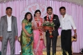 Arun Vijay wife Aarthi at Prasanna Sneha Wedding Reception Photos