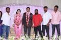 Ameer Sultan, Karu Pazhaniappan, Samuthirakani at Prasanna Sneha Wedding Reception Photos