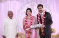 RM Veerappan at Sneha Wedding Reception Stills