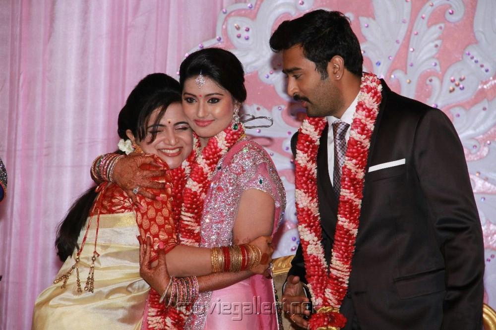 Picture 227438   Prasanna Sneha Wedding Reception Photos   New Movie