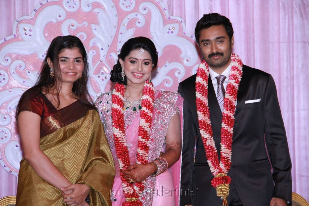 Singer Chinmayi at Prasanna Sneha Wedding Reception Photos