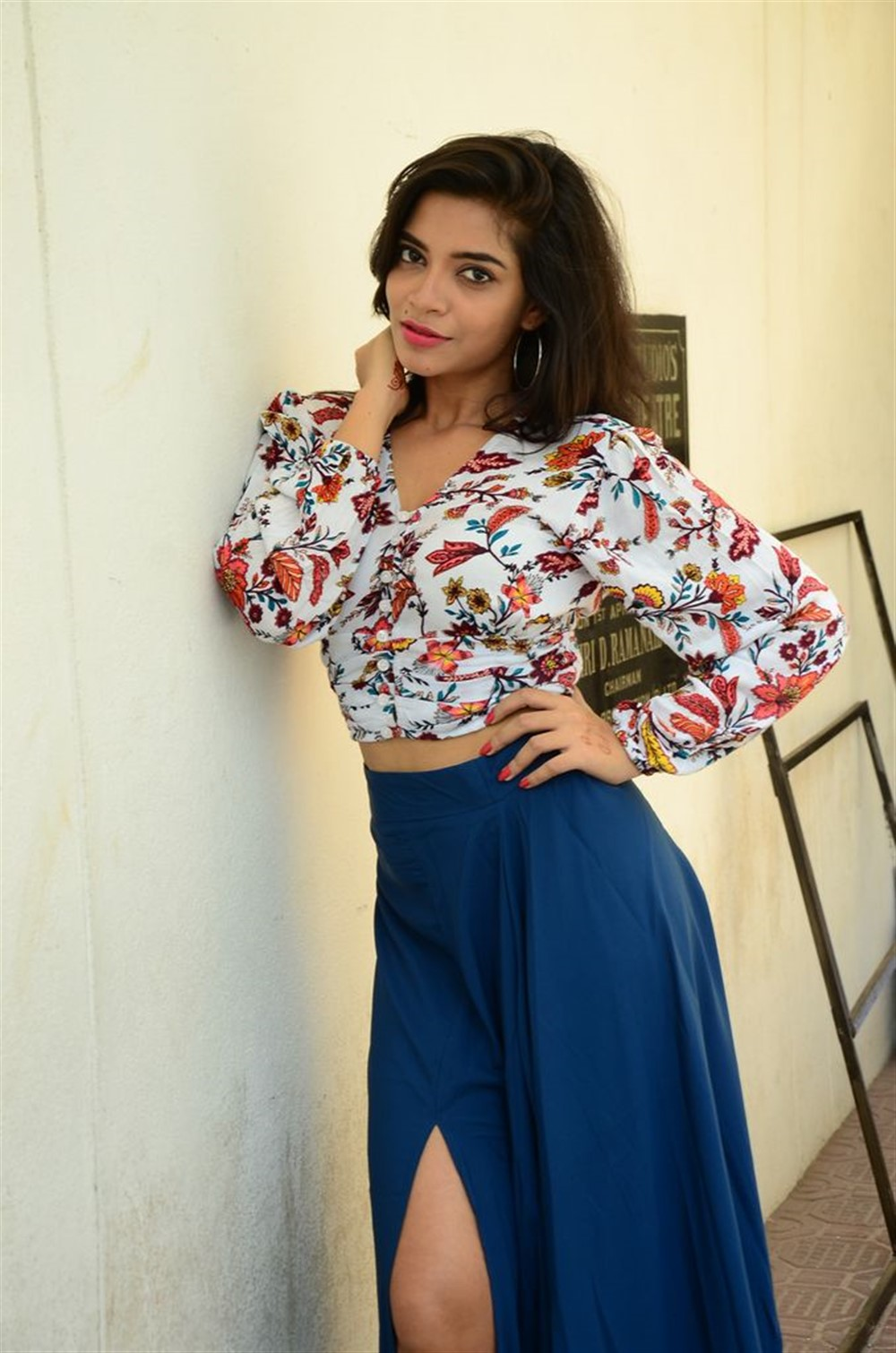 Actress Prashanthi Photos @ Falaknuma Das Trailer Launch