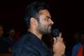 Sai Dharam Tej @ Prathi Roju Pandage Trailer Launch Stills