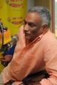 Tammareddy Bharadwaja @ Prathighatana Movie Team at Radio Mirchi Hyderabad
