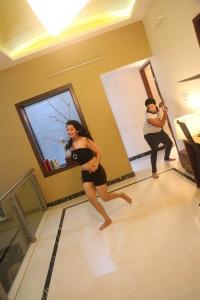 Actress Tejaswini Hot in Prathikshanam Movie Stills