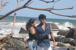 Hot Tejaswini, Manish Babu in Prathikshanam Movie Stills