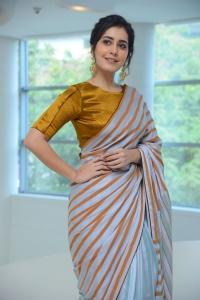 Raashi Khanna @ Pratiroju Pandage Success Meet Stills