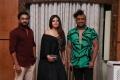 Prabhakaran PC, Deepika Pillai, Karun Raman @ Prawlion Fashion Week Press Meet Stills