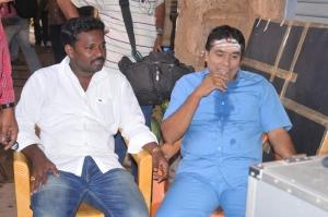 Director Subbu at Prema Geema Jantha Nai Movie Working Stills