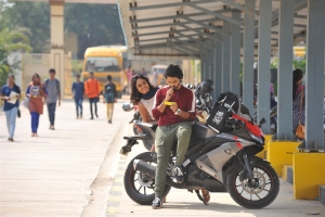 Nandita Swetha, Sumanth Ashwin in Prema Katha Chitram 2 Movie Photos
