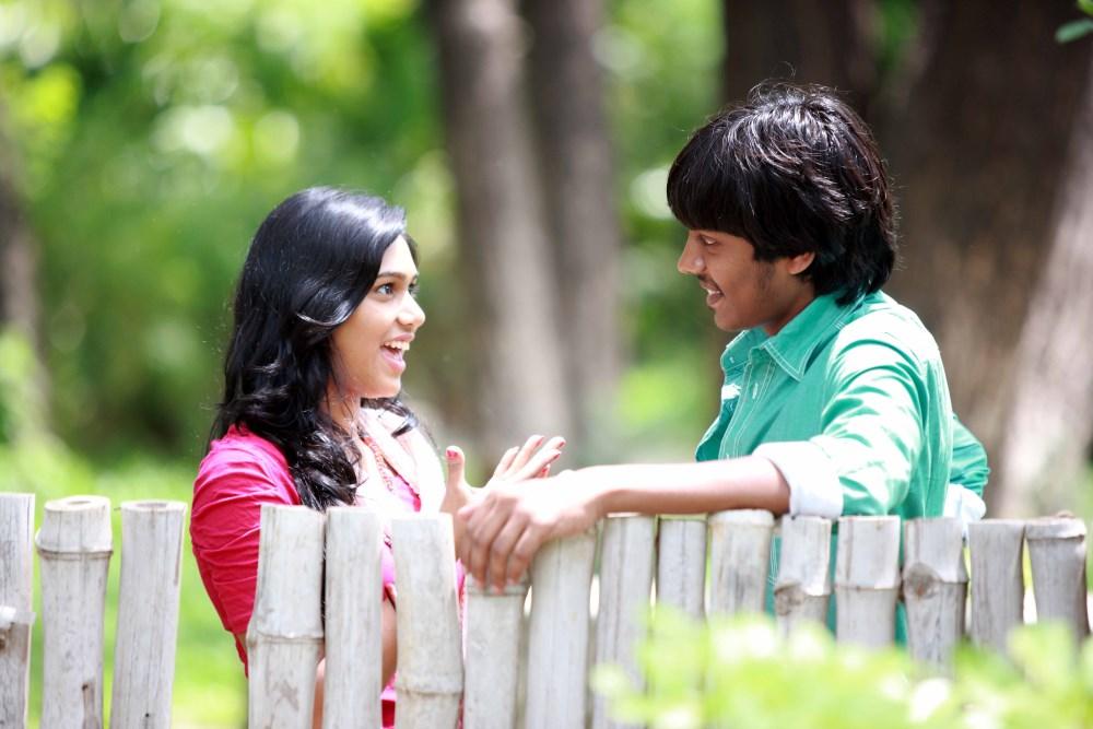 Manisha Yadav, Santhosh Ramesh in Preminchali Movie Hot Stills