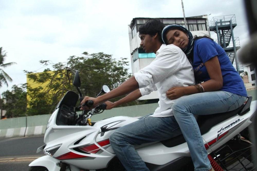 Santhosh Ramesh, Manisha Yadav in Preminchali Movie Hot Stills