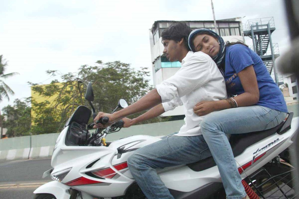 Santhosh Ramesh, Manisha Yadav in Preminchali Movie Hot Stills