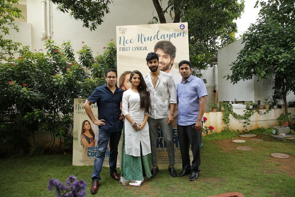 Pressure Cooker Movie Nee Hrudayam Lyrical Song Launch Stills
