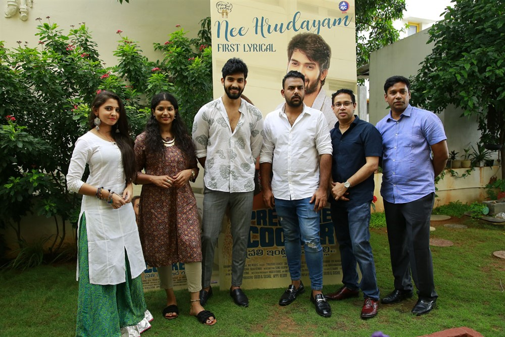 Pressure Cooker Nee Hrudayam Song Lyrical Video Launch Stills